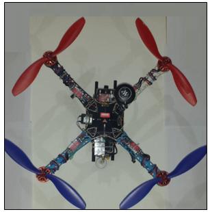 bağlantıların quadcopter üzerindeki görünümleri