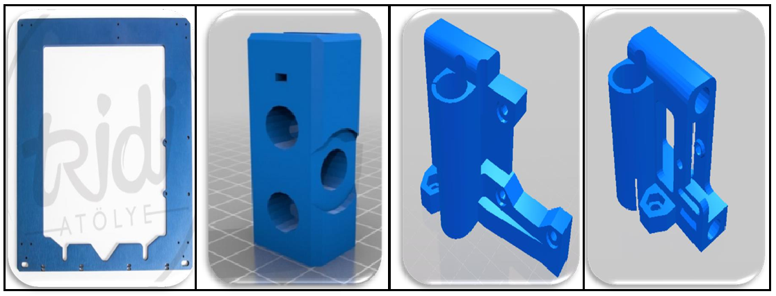 3D Printer çalışma Prensibi