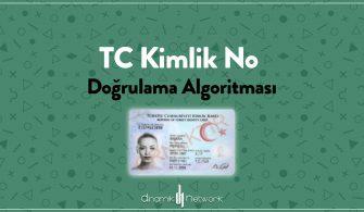 TC Kimlik No Doğrulama Algoritması